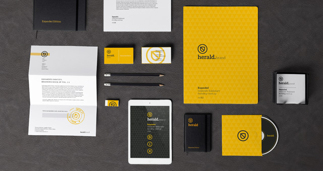 niu designer stationery branding and marketing materials